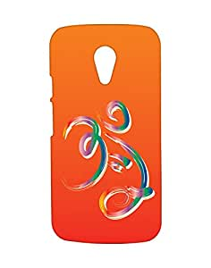 Mobifry Back case cover for Motorola Moto G 2nd generation Mobile ( Printed design)