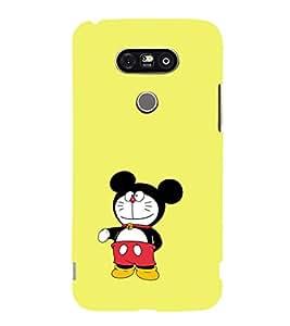 EPICCASE Dorae mickey Mobile Back Case Cover For LG G5 (Designer Case)