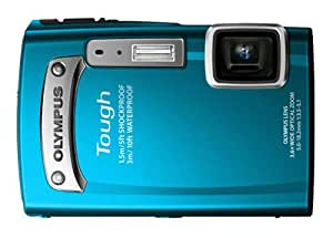Olympus TG-320 14 MP Tough Series Camera with 3.6x Optical Zoom (Blue) (Old Model)