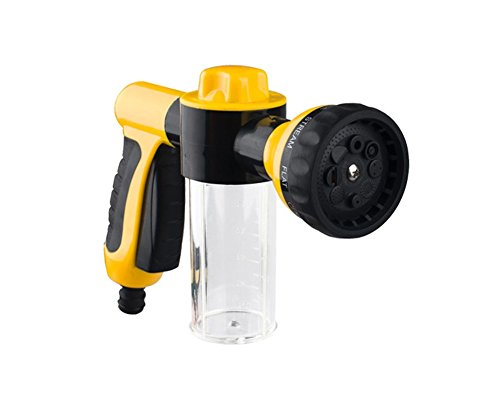 O-Best-Multifunction-Gardening-or-Car-Cleaning-Water-Hose-Foam-Sprayer-Gun-with-8-Functions-Spray-Nozzle-and-Measuring-Cup