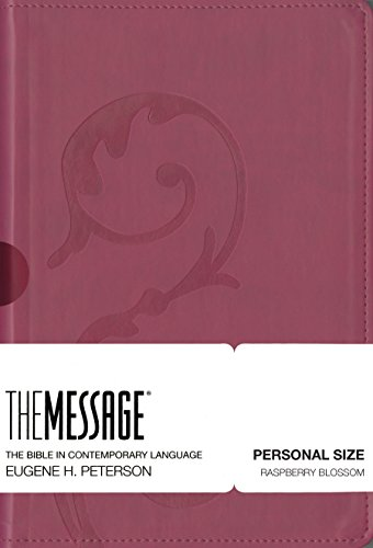 Message-MS-Personal Size Numbered: Bible in Contemporary Lanuage (The Message Bibles)