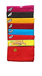 Milano Dark colour Cotton handkerchiefs for women - Pack of 12 pcs