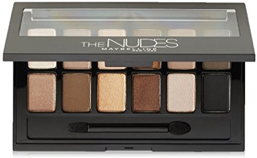 Maybelline New York The Nudes Eyeshadow Palette 0.34 oz (Pack of 3)