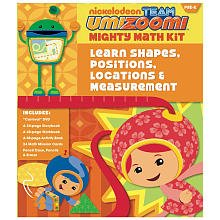 Team Umizoomi: Shapes, Measurement & Positioning Pre-K Math Kit