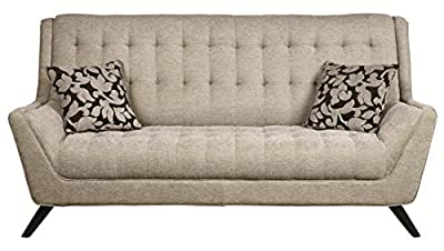 Coaster Home Furnishings 503771 Casual Sofa, Grey/Grey