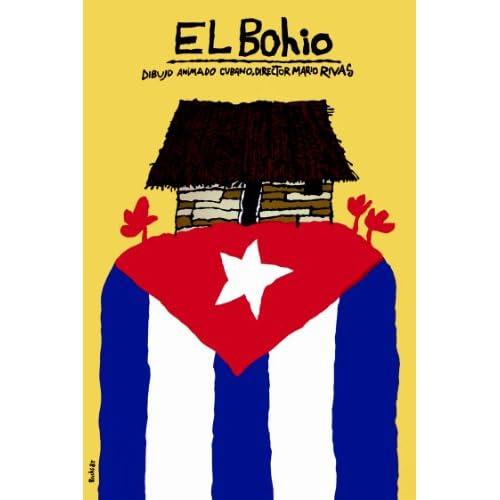 "18""x 24"" Poster. El Bohio. Dibujo animado Cubano. Decor with Unusual"