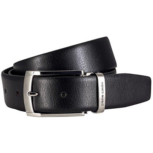 Cintura in pelle uomo/gnaulm uomo Pierre Cardin, 70157 Nero