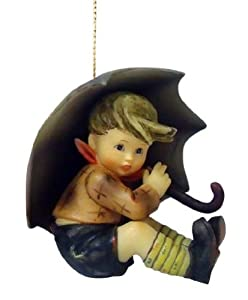 M.I. Hummel Christmas Ornament - Umbrella Boy by M.I. Hummel