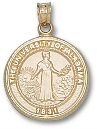 university-of-alabama-seal-pendant-3-4-inch-10k-yellow-gold-by-logo-art