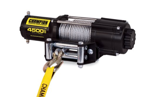 Review Of Champion Power Equipment 14560 Wireless Remote Power Winch Kit - 4500 lb. Capacity