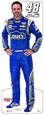 Miniature Cardboard Cutout - Jimmie Johnson #48