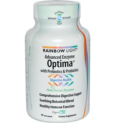 Rainbow Light - Rainbow Light Advanced Enzyme Optima - 90 Vegetarian Capsules - Pack Of 1