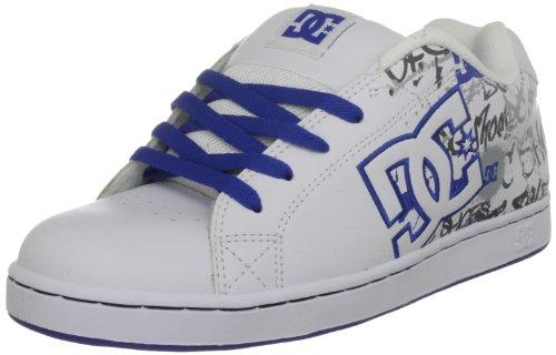 DC MEN'S CHARACTER Mens Sneaker white royal (6.5 UK, White/Royal/White)