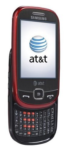 Samsung A797 Flight Red At&t Qwerty Keyboard Touch Screen 3g Gps Cell Phone