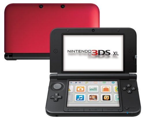 3DS XL Rojo+Negro 32GB
