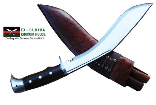 "Authentic Gurkha Kukri Knife - 10"" American Eagle Khukuri or Khukris, Handmade by Ex Gurkha Khukuri House in Nepal"