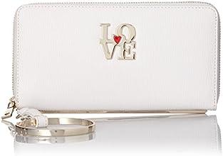 [ラブモスキーノ] Love Moschino LOVEプレート財布 BW0230029 00 (ホワイト)