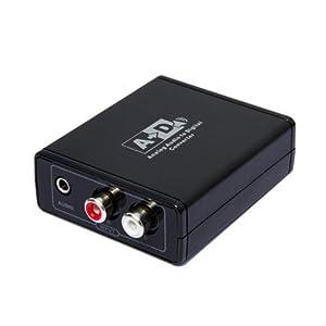 Amazon.com: Panlong Analog to Digital Optical Coaxial Audio Converter ...: www.amazon.com/Panlong-Digital-Optical-Coaxial-Converter/dp/B00AYAHILK