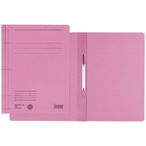Schnellhefter Rapid, A4, Manilakarton, pink Farbe pink