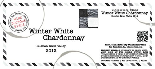 2012 Winedoctors' Winter White Russian River Valley Chardonnay 750 Ml