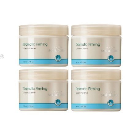 Avon Solutions Dramatic Firming Cream Lot of 4