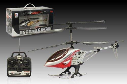 Tech Toys HELICOX 6016 Hubschrauber/Helicopter silber/schwarz