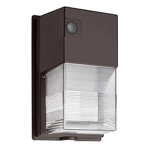 Lithonia Lighting OWP LED 1 50K 120 PE M4 Wall Mount Outdoor LED Wall Pack Light, Bronze (Lithonia Outdoor Led compare prices)