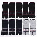 足袋 靴下 メンズ ソックス 紳士 10足組 25cm~27cm カジュアル足袋 ショートタイプ 運動