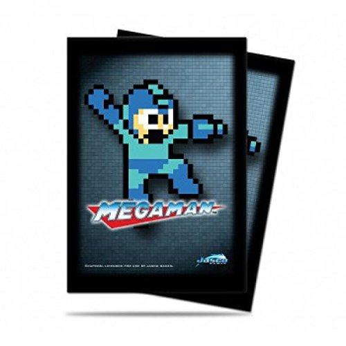 Ultra Pro Mega Man Mega Man 8-Bit Standard Card Sleeves [50 ct] - 1