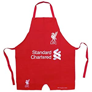 Liverpool FC Official Football Gift Kit Shirt Kitchen BBQ Apron Red (RRP £9.99!) by Liverpool