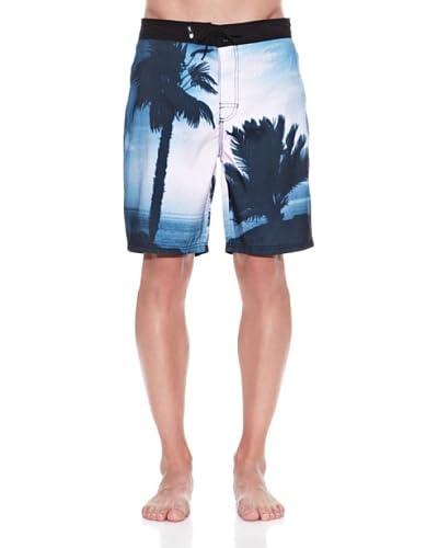 Springfield Costume Coronado Surfer Palm Tree [Blu]