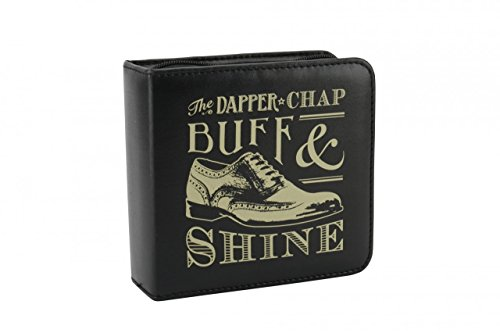 Shoe Shine Kit Dapper Chap Buff & Shine Luxury Quality Set by BCBGMAXAZRIA