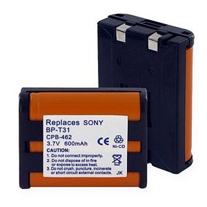 Empire Rechargeable Cordless Phone BatteryFor Sony BP-T31. 600mAh, 3.6v, NiCD. High Quality. We Discount shipping On 2 Or More Batteries.