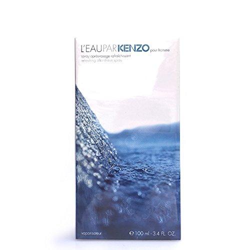 L'eau par kenzo pour homme apres rasage rafraichissant 100ml