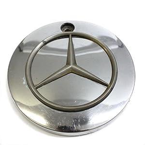 Mercedes benz wheel center cap replica chrome for Mercedes benz center cap