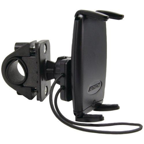 ARKON SM532 Slim-Grip Bicycle and Motorcycle Mount for Smartphone - Bulk Packaging - Black