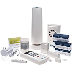 13-Piece SimpliSafe Simplisafe2 Wireless Home Security Deluxe Pack