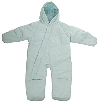 Baby Boys TRESPASS Waterproof Light Blue All in One Snow Ski Suit Age 6-12 mths