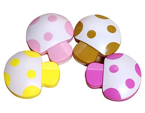 1-pcs-cute-mushroom-contact-lenses-box-cases-holders-random-color