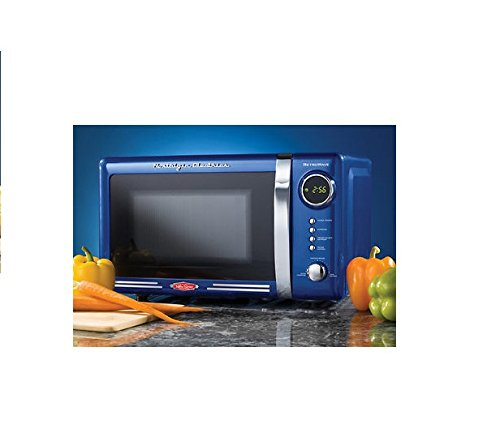 Buy Nostalgia Electrics Limited Edition Blue Retro Series 0.7-cu Ft. 700w Microwave Oven