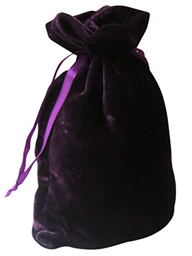 "Tarot Bags: Purple Luxury Velvet 6"" X 9"""