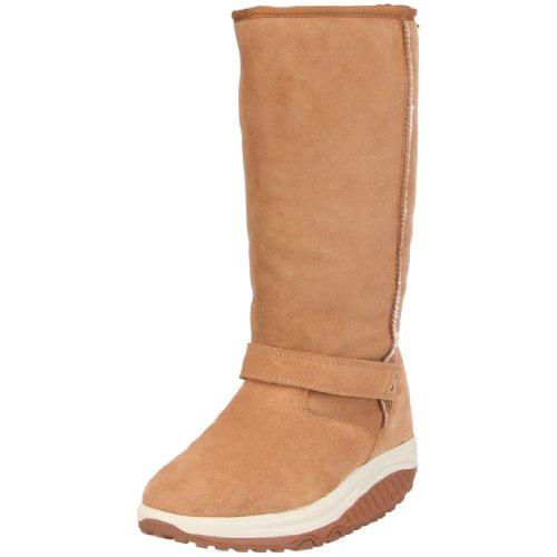 Skechers Women's Shape Ups Boot chestnut 12281 CSNT 7 UK