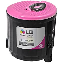 LD © 4inkjets' Replacement CLP-M300A Magenta Laser Toner Cartridge for use in Samsung CLP-300, CLX-2160 & CLX-3160 Printers