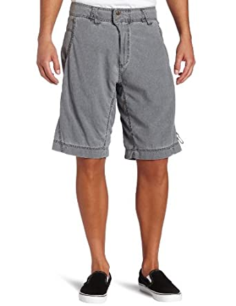 LOOPTWORKS Men's Kampung Short Shorts  (Earth Brown, 30)