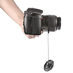 Lens Cap Keeper Holder For CANON NIKON SONY PENTAX FUJI SHIPS FROM HONG KONG!