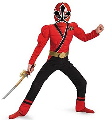 Boy's Power Rangers Samurai Costume Red Ranger