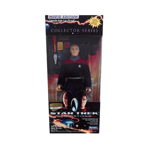 "Star Trek Generations 1994 Captain Jean-Luc Picard 8"" Action Figure - 1"