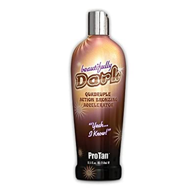 ProTan Pro Tan Beautifully Dark Bronzer Indoor Tanning Salon Bronzing Tan Lotion 8.5 Ounce