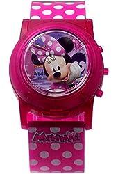 Disney Junior Minnie Flashing Musical Watch