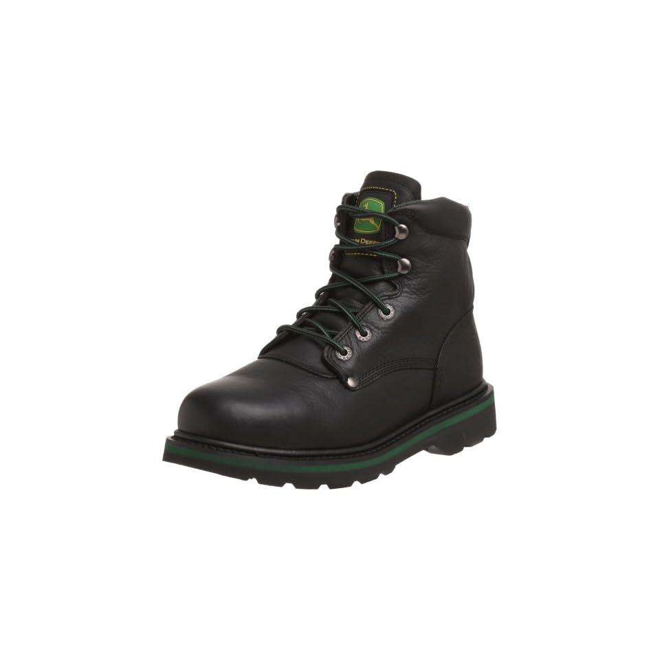 John Deere Mens JD6390 Boot,Black,7.5 M